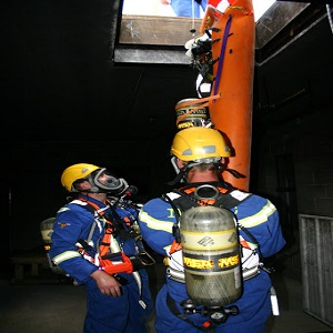 confined space rescue standby service